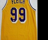 Chevy Chase Signed Lakers Fletch Jersey