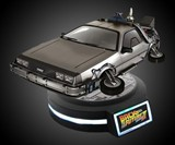 Levitating DeLorean
