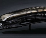 Life-Size Alien Head