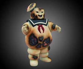 Burnt Stay Puft Marshmallow Man Bank