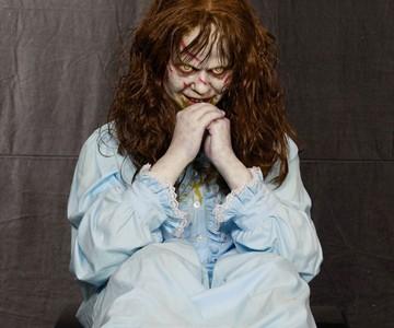 life size exorcist regan doll dudeiwantthat com