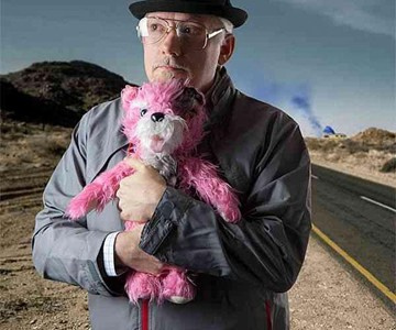 Breaking Bad Pink Teddy Bear