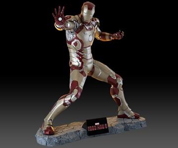 Life-Size Iron Man Statue