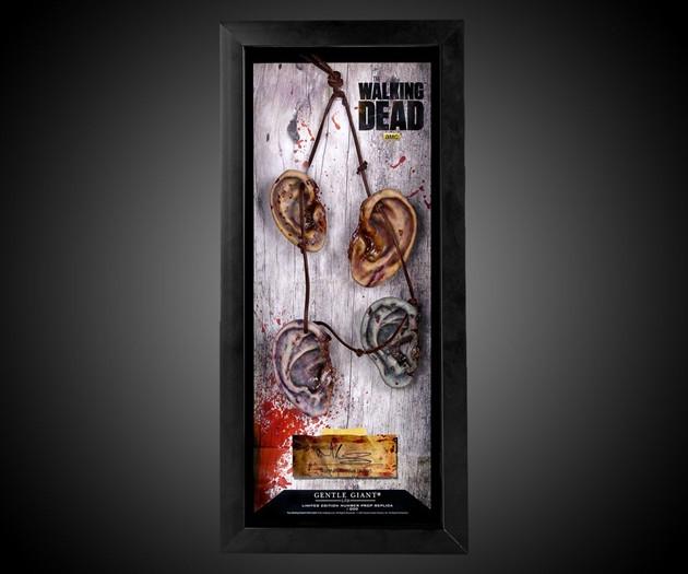 Daryl Dixon Zombie Ears Necklace
