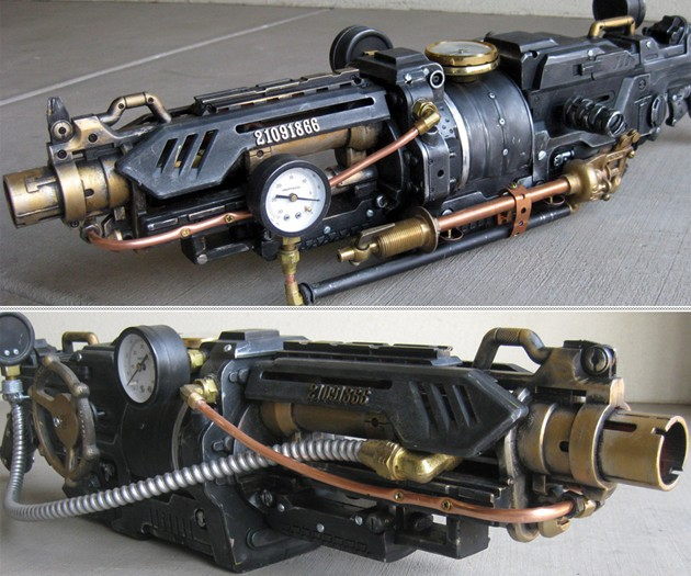 The Goliathon Steampunk Gun
