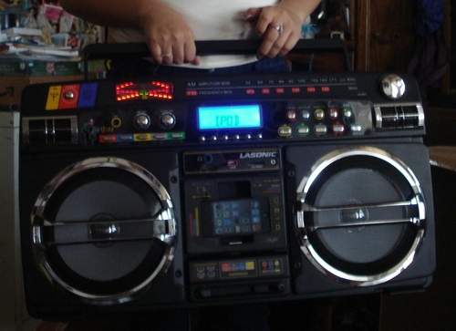 Ghetto blaster with ipod iphone dock - Lasonic ghetto blaster i931x ...
