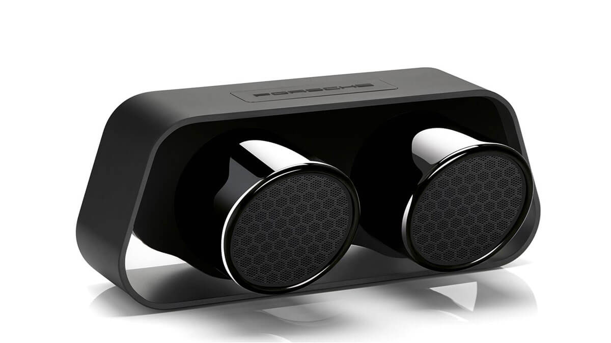 Porsche 911 Twin Exhaust Speaker