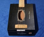 El Baton Cigar Box Guitar Vertical View