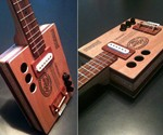 Padron Cigar Box Guitar