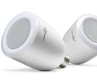 Built-In Speaker LED Light Bulbs