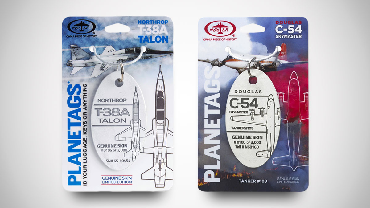 PlaneTags - Retired Aircraft Skin Collectibles