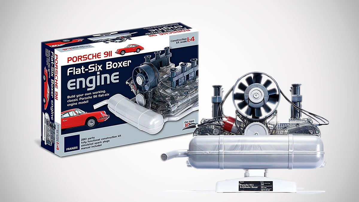 Porsche 911 1:4 Scale Working Flat-Six Boxer Engine Kit