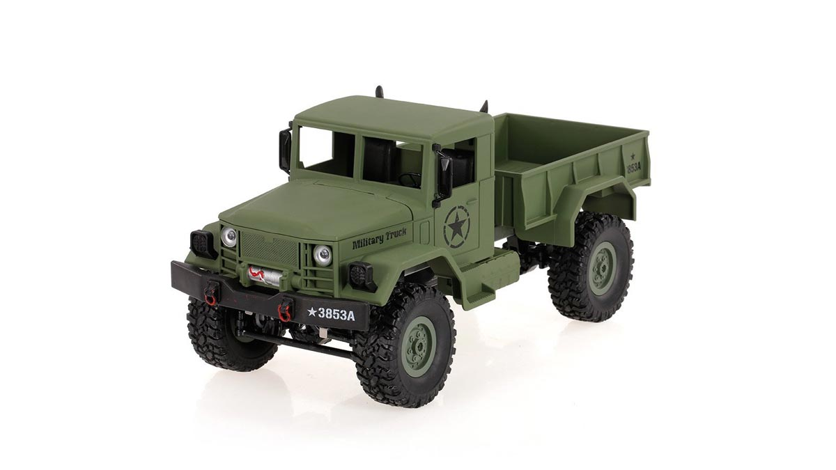 4WD Off-Road RC Military Truck