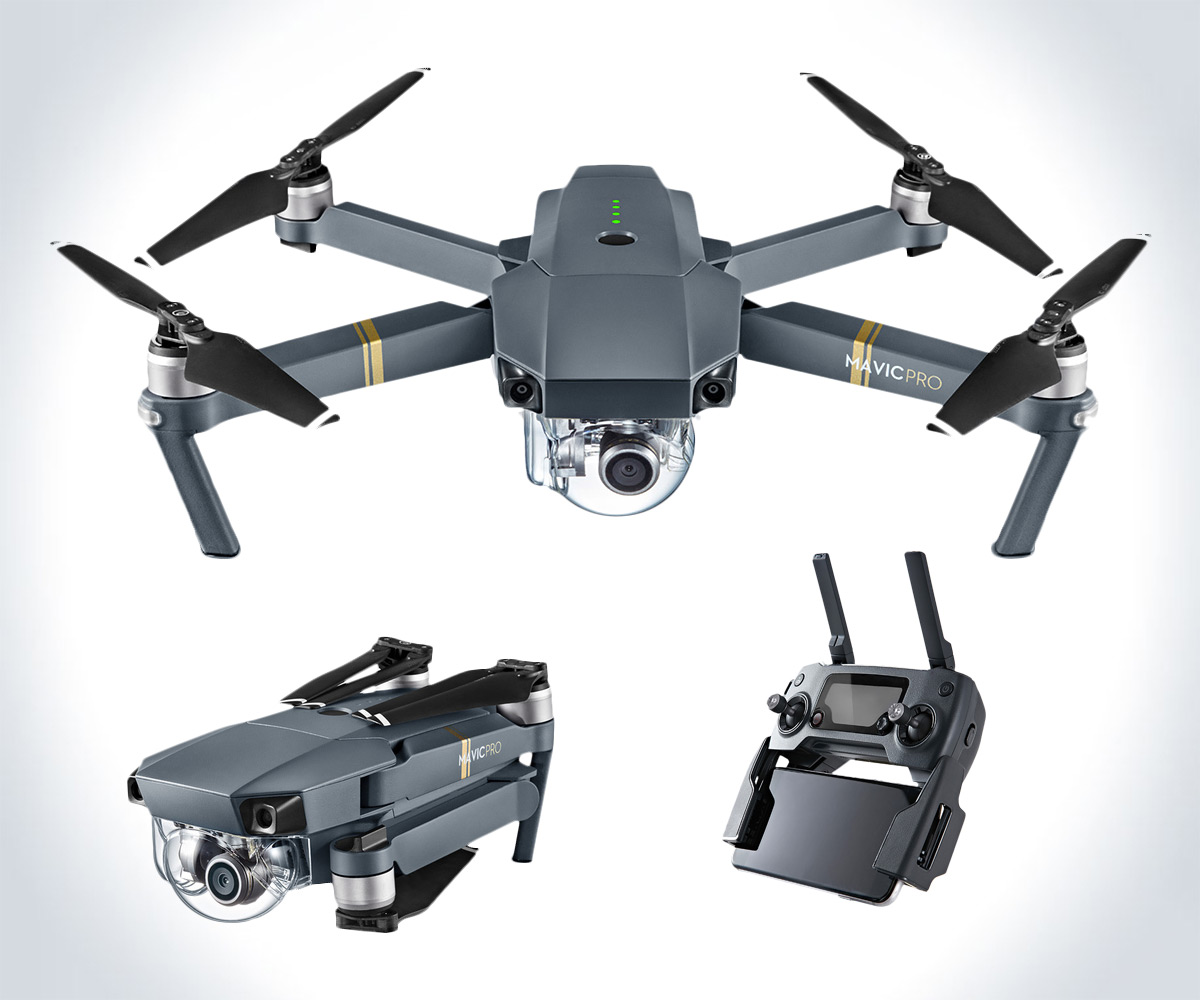 DJI Mavic Pro Foldable Drone - coolthings.us