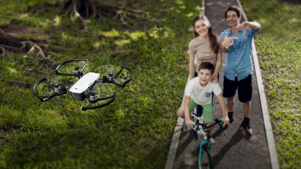 DJI Spark Gesture-Controlled Mini Drone