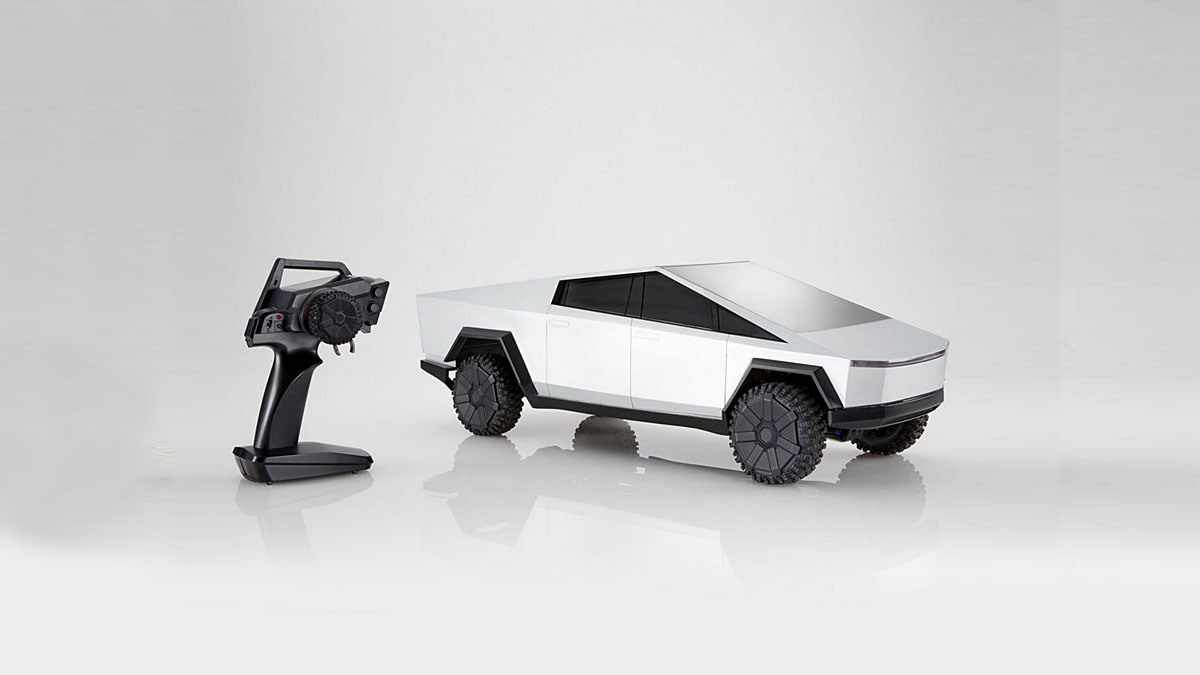 Hot Wheels RC Tesla Cybertruck