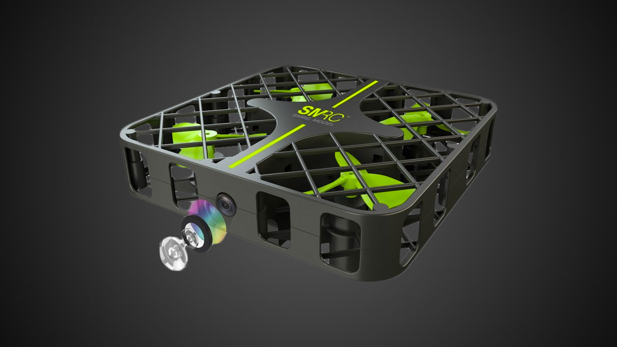 Rabing Cube Cage Mini Drone with HD Camera