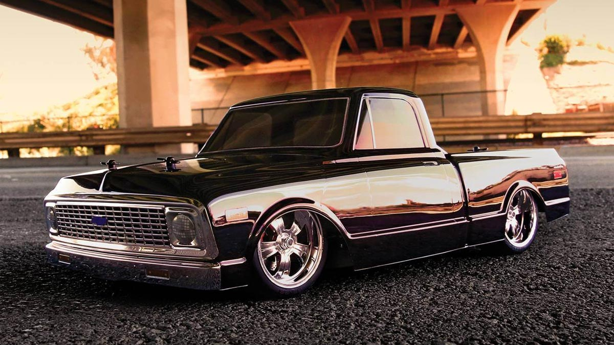 All Chevy c10 chevy : RC 1972 Chevy C10 Pickup Truck V-100 S | DudeIWantThat.com