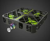 Rabing Cube Cage Mini Drone with HD Camera