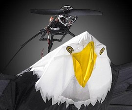 9-1/2-Foot Remote Controlled Bald Eagle