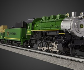 John Deere LionChief Steam Train Set