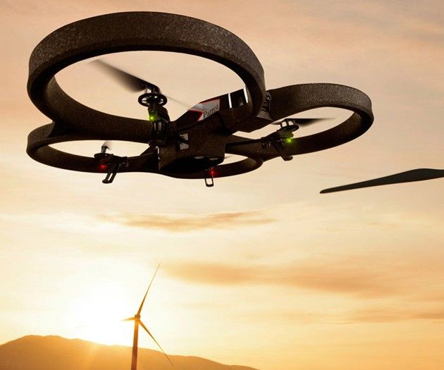 App-Controlled Video Quadricopter