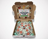 Cash Pizza Money-Filled Gift Box