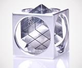 Machined Aluminum Turner's Cube