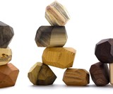 Tumi Ishi Wood Rock Balancing Blocks