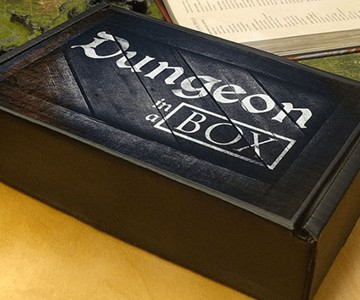 Dungeon in a Box RPG Subscription Box