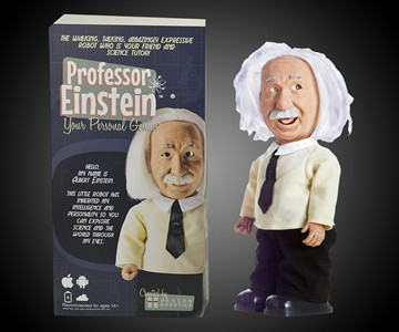 Interactive Walking & Talking Einstein Robot