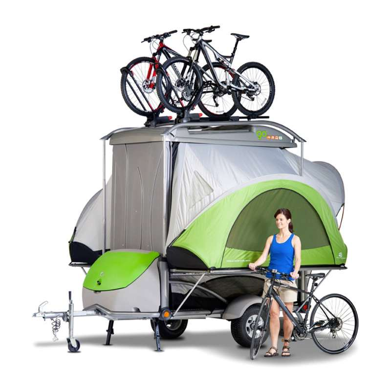 Treehaus Kitchen: Adventure Gear Camping Trailer