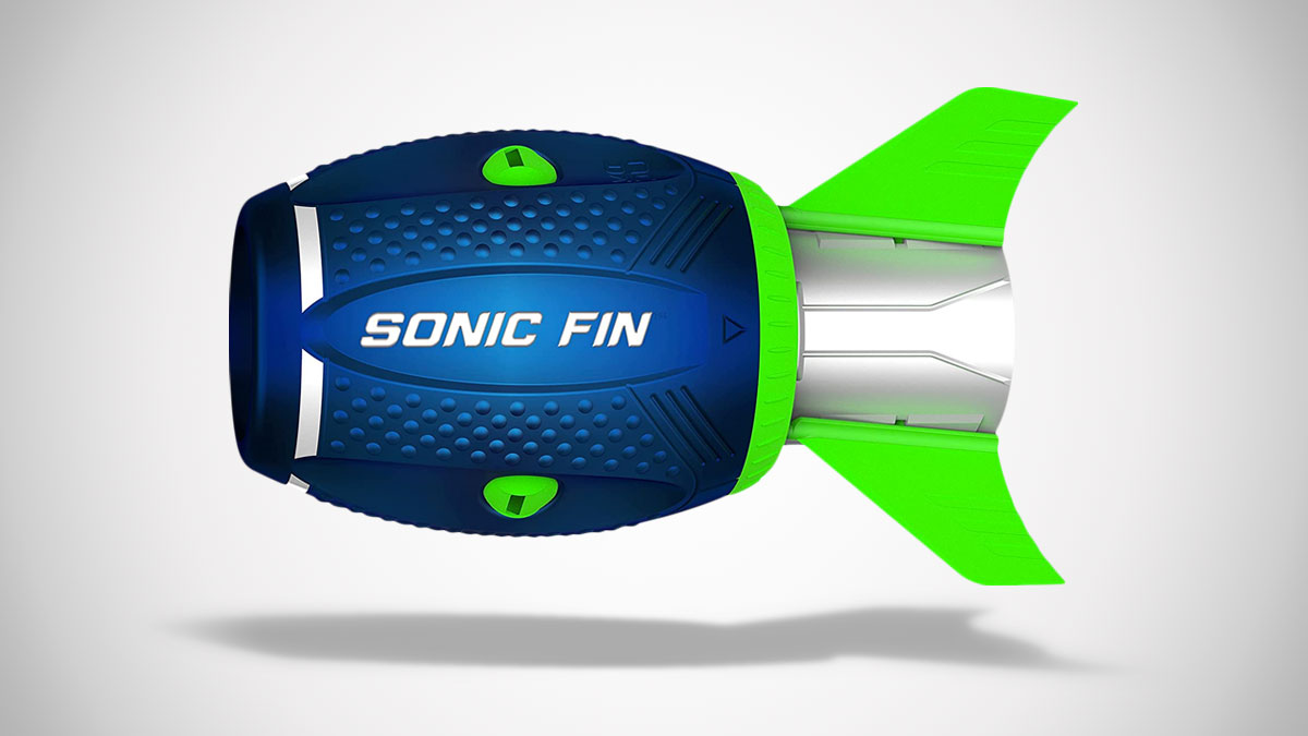Aerobie Sonic Fin 100-Yard Football