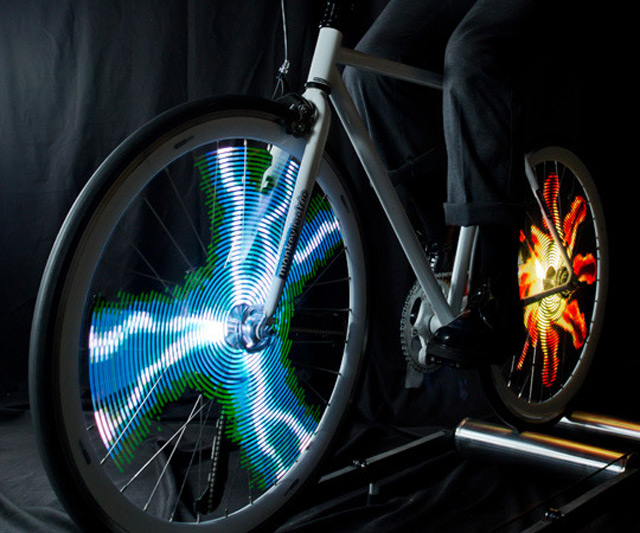 Bike Lights For Wheels Animated Bike Wheel Lights