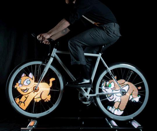 Animated Bike Wheel Lights Dudeiwantthat Com