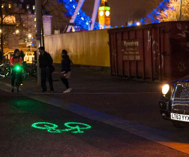 Blaze Laserlight For Cyclists Dudeiwantthat Com