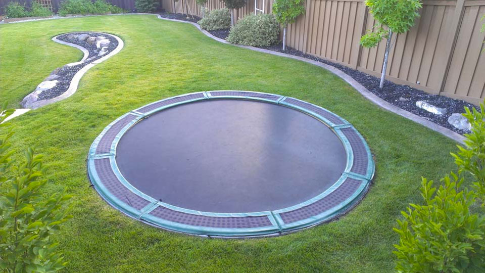 in ground trampoline kit. Black Bedroom Furniture Sets. Home Design Ideas