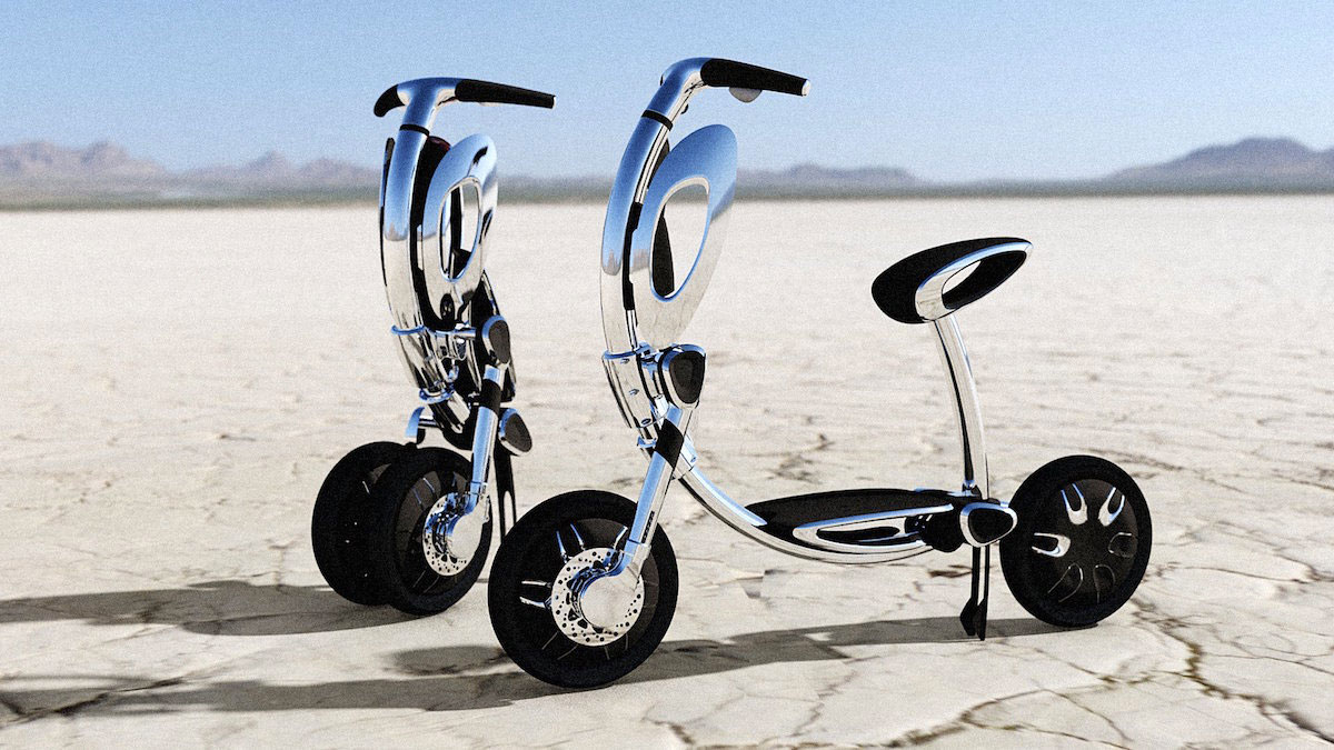 Folding Electric Scooter >> Inu Folding Electric Scooter Dudeiwantthat Com