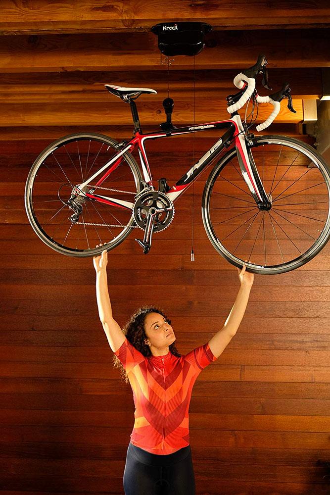 Kradl Manual Bike Lift Amp Storage System Dudeiwantthat Com