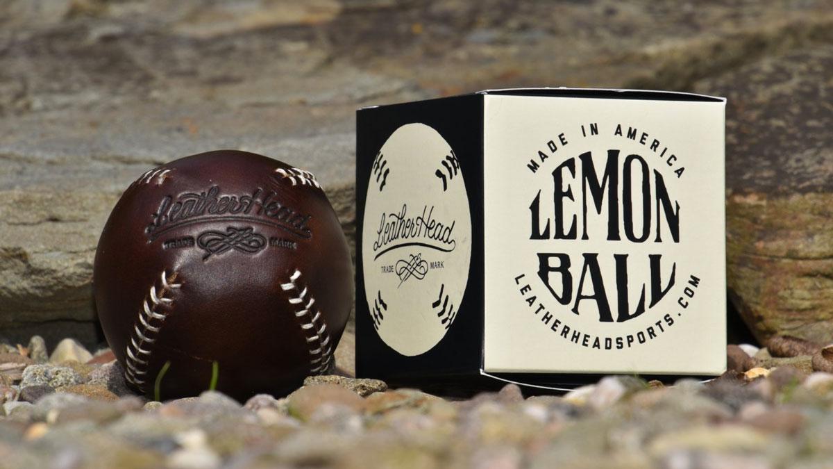 Lemon Ball Vintage Baseballs