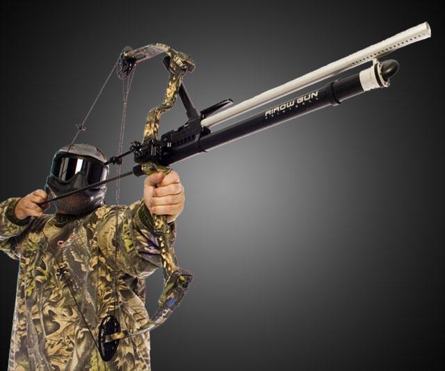 Paintball Airow Gun with Infinite Edge Bow