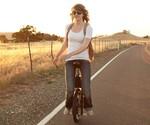 Girl Riding Self-Balancing Unicycle (SBU V3)