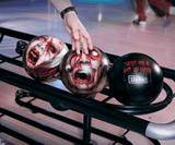 Zombie Head Bowling Balls-9452