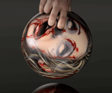 Zombie Head Bowling Balls-3328