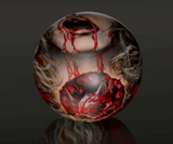 Zombie Head Bowling Balls-989