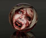Zombie Head Bowling Balls-779