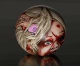 Zombie Head Bowling Balls-1873