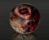Zombie Head Bowling Balls-1787