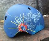 Belle Handpainted Bike Helmets