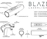 Blaze Laser Cyclist Bike Light